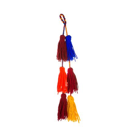 Shar Sheeba Wool Tassels