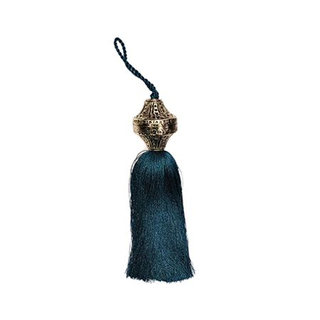 Peacock Silk Tassel
