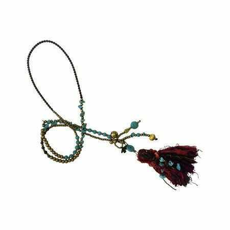Yak Wool Tassel Necklaces