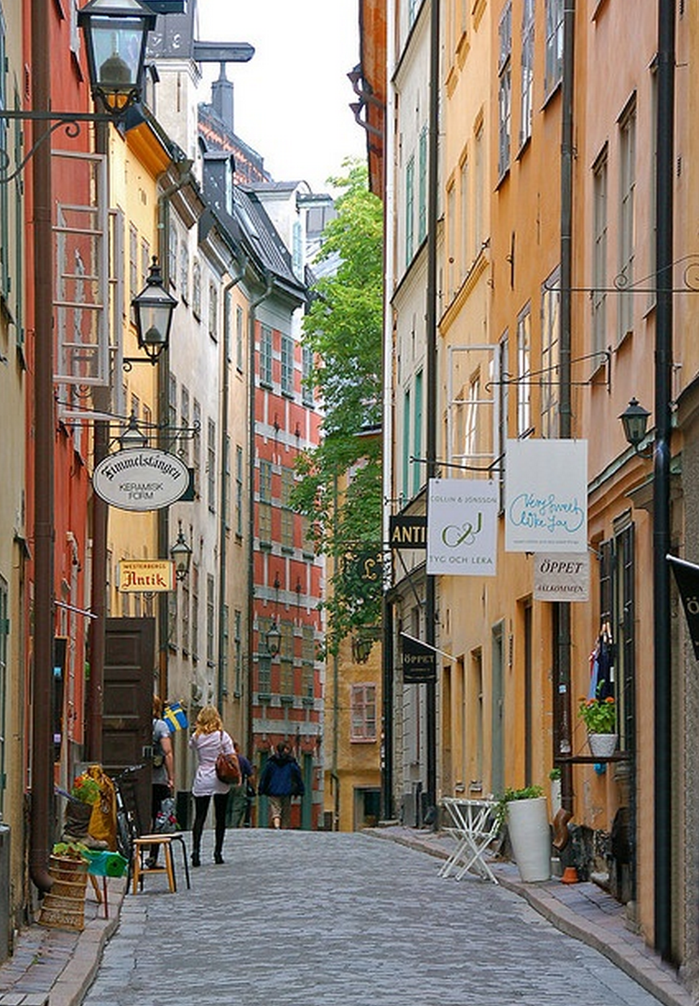 Stockholm's Gamla Stan as photographed by Craig of Devonshire Media