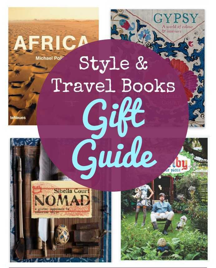 Welcome to Cyber Monday! Here's your gift guide for stylish book lovers including travel books and more.
