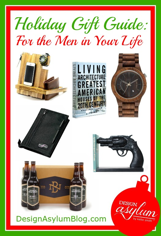 Holiday Gift Guide: For the Men in Your Life - Looking for a unique gift for the men in your life? Here is my Holiday Gift Guide For the Men in Your Life that definitely helped me with the men on my list!