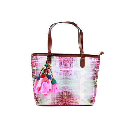 The Nomad Tote - Thread Bare Pink
