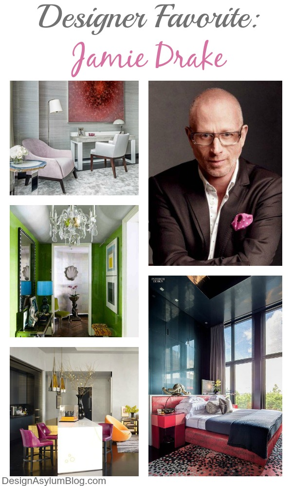 Happy Birthday Jamie Drake! Let's take a look at these interiors designed by Jamie Drake and celebrate his birthday with vodka and gummy bears