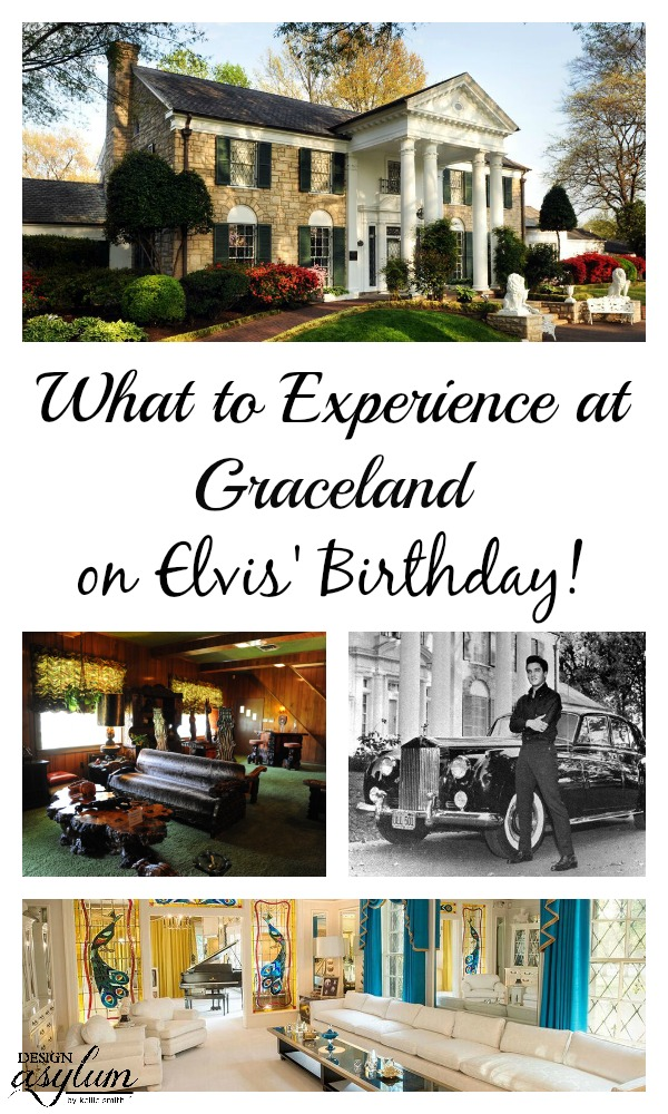 Visiting Graceland is magical in itself - now let's add Elvis' Birthday on top of that! See what to experience at Graceland on Elvis' Birthday!