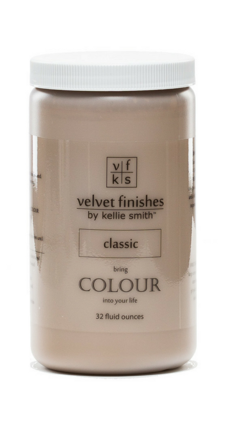 BIG NEWS! Velvet Finishes has launched 6 brand new colours that are perfect paint colours for furniture! DIY Furniture paint, NO sand, NO wax!
