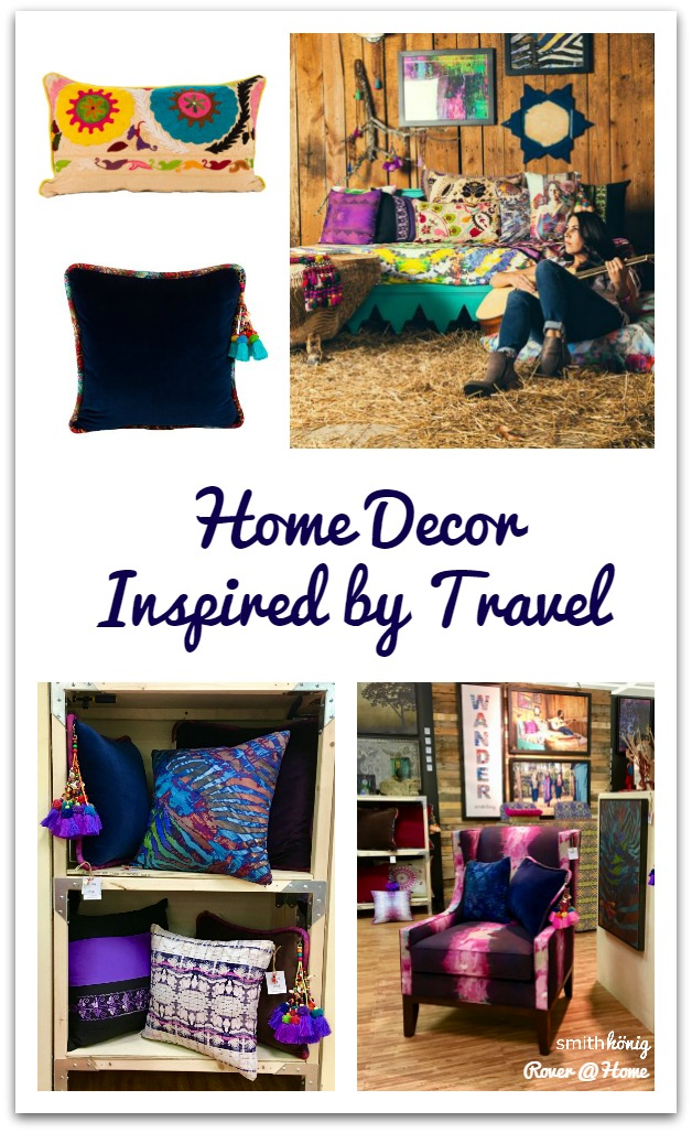 Home Deocr Inspired by Travel! SmithHonig - Traveling, designing, creating our palettes, working with trusted manufacturers and craftspeople, + more.