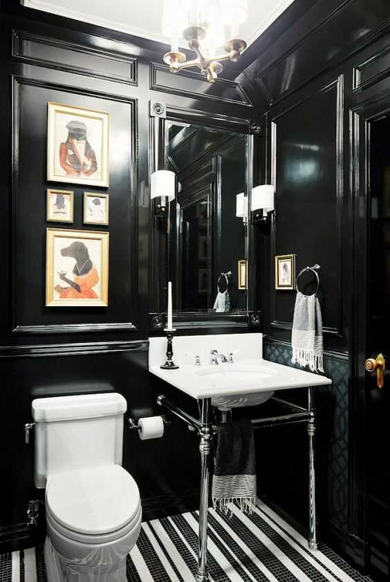 Home styling? Paint it black. The results can be transformative. Here are some reasons why, and see if you become a convert as well.