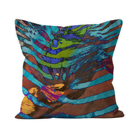 Indoor Throw Pillow - African Paint - 2 Sizes