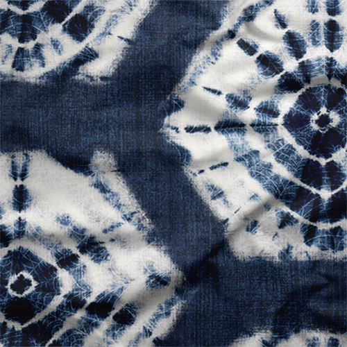 Navy Shibori Tie-Dye Fabric by the Yard - - Exclusively by SmithHönig