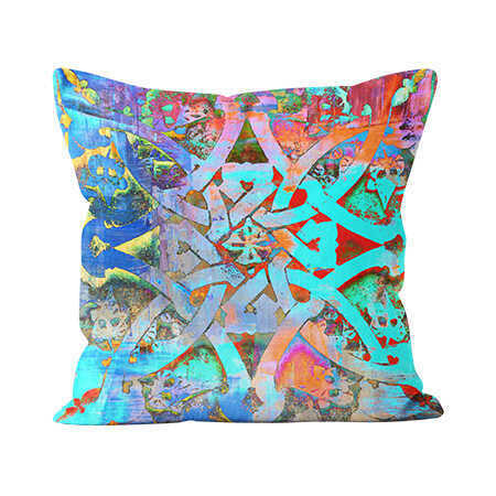 Indoor Throw Pillow - Moroccan Knot