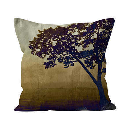 Square Indoor Throw Pillow - Savanna Morning