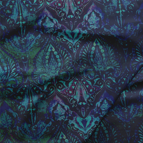 Fabric by the Yard - Neela / Blue