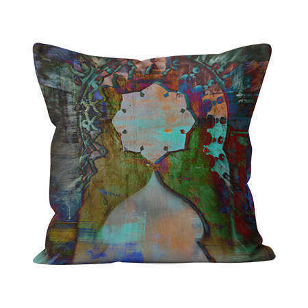 Indoor Throw Pillow - Crespi Arch
