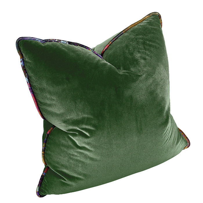 The Luxe - Square Forest Green with Vintage Gypsum Welt