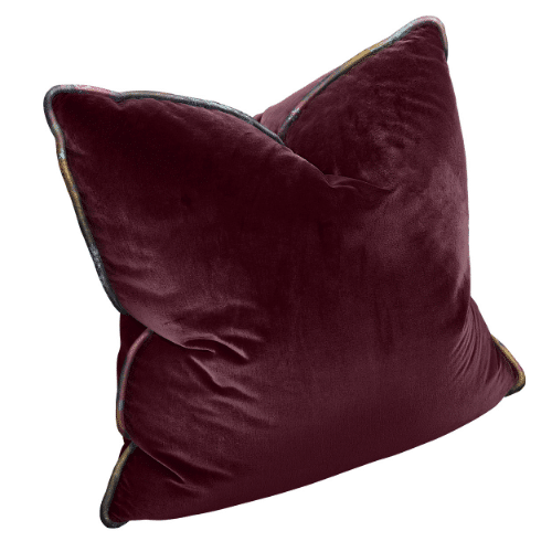 The Luxe - Square Burgundy with Vintage Gypsum Welt