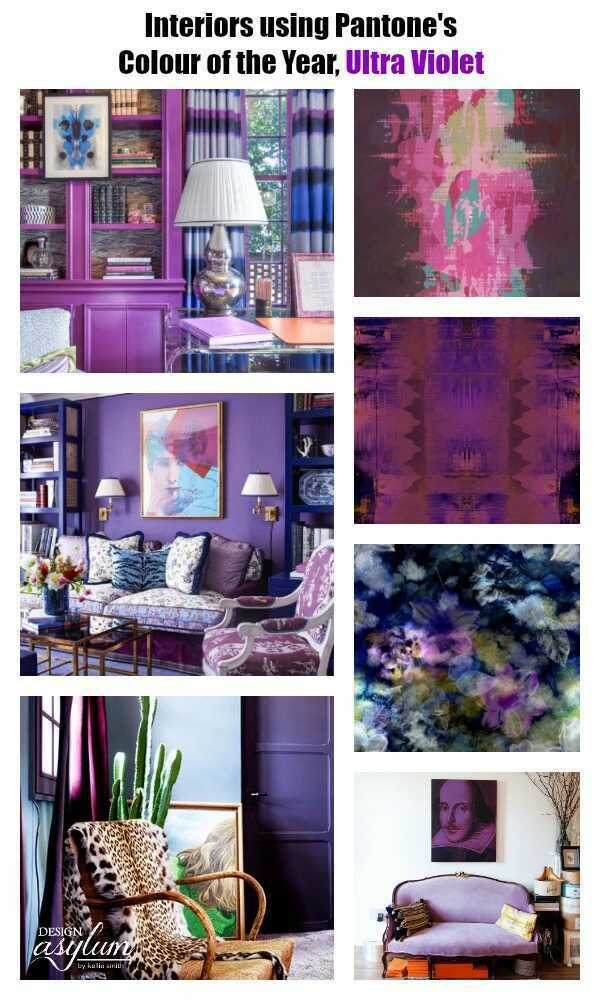 Pantone is coloring the way for the new year with it's 2018 Colour of the Year, Ultra Violet. While purple is not an easy colour to use in design I love a challenge, and splash purple around whenever I get the opportunity! Let's share the purple love and admire these electric interiors that express ultra violet in a grand way...