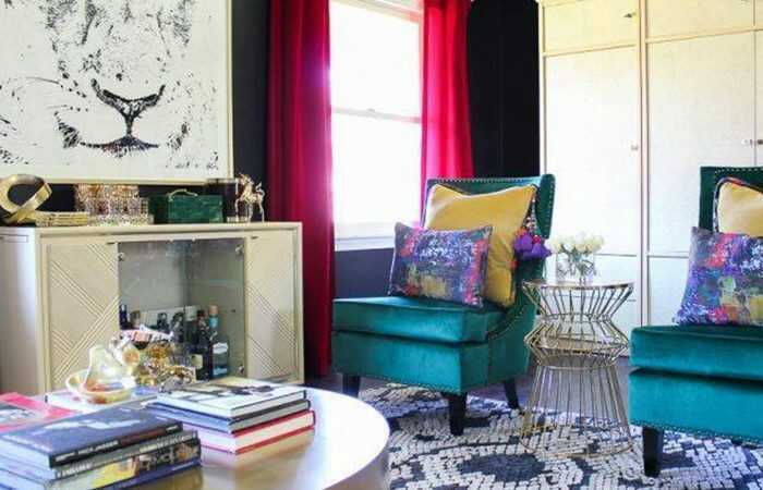history of bohemian interior design