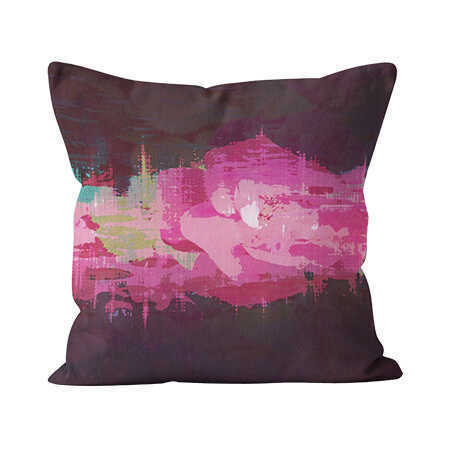 Square Indoor Throw Pillow - Ashes of Roses