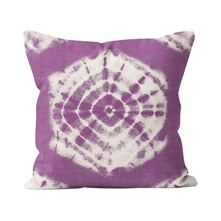 Outdoor Pillow - Shibori Berry - 2 Sizes
