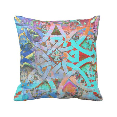 Outdoor Pillow - Moroccan Knot