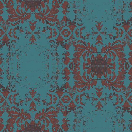 Vintage Damask Wallpaper - a SmithHönig Exclusive
