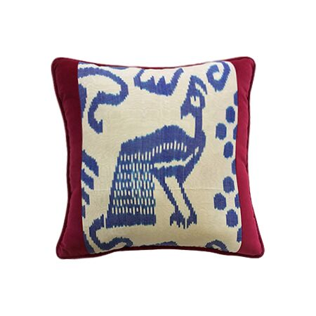 pillow products pottery peacock barn feather c embroidered