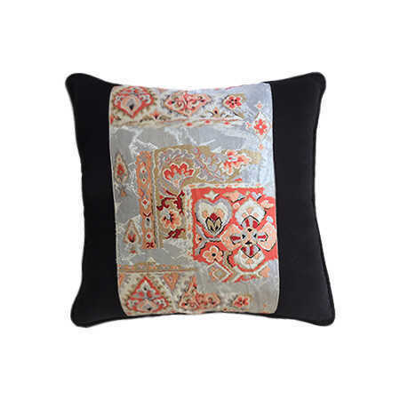 """Beautiful Vintage Obi pillow discovered on a journey through Japan - 22""""x22"""""""