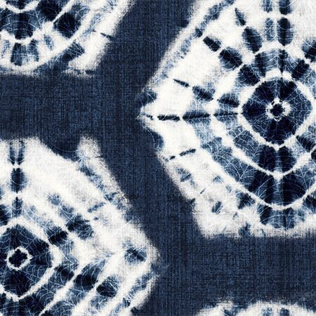 Peel and Stick Wallpaper - Shibori / Indigo