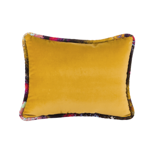 The Luxe - Lumbar Golden with Vintage Gypsum Welt