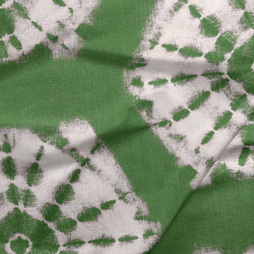 Fabric by the Yard - Shibori / Moss