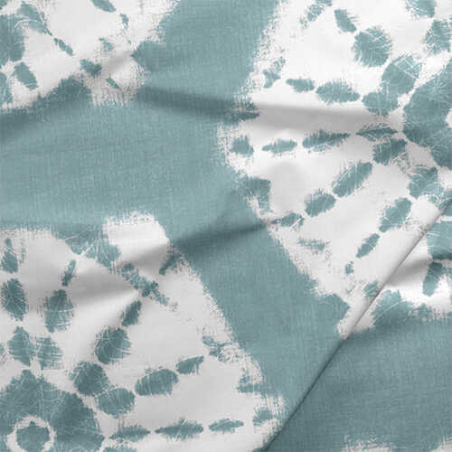 Fabric by the Yard - Shibori / Hyacinth