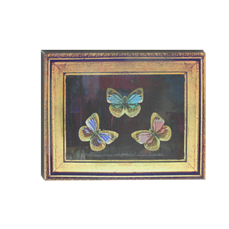 Canvas Wall Art - Black Butterfly