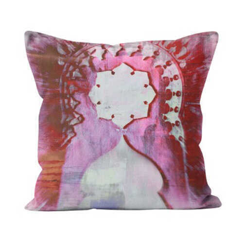 Outdoor Throw Pillow - Crespi Arch Pink