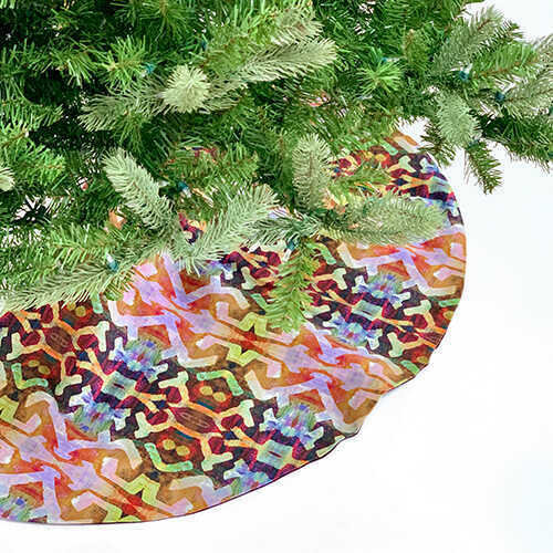 Christmas Tree Skirt - Bakuba Lodge