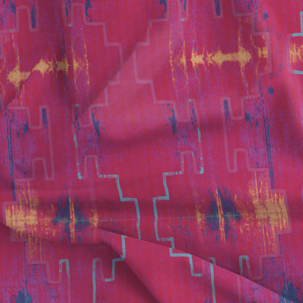 Fabric by the Yard - Andean Summer / Sunset