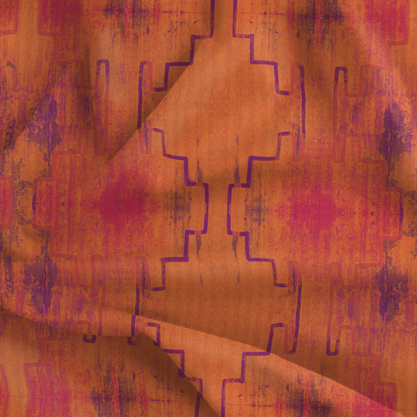 Fabric by the Yard - Andean Summer / Sunrise
