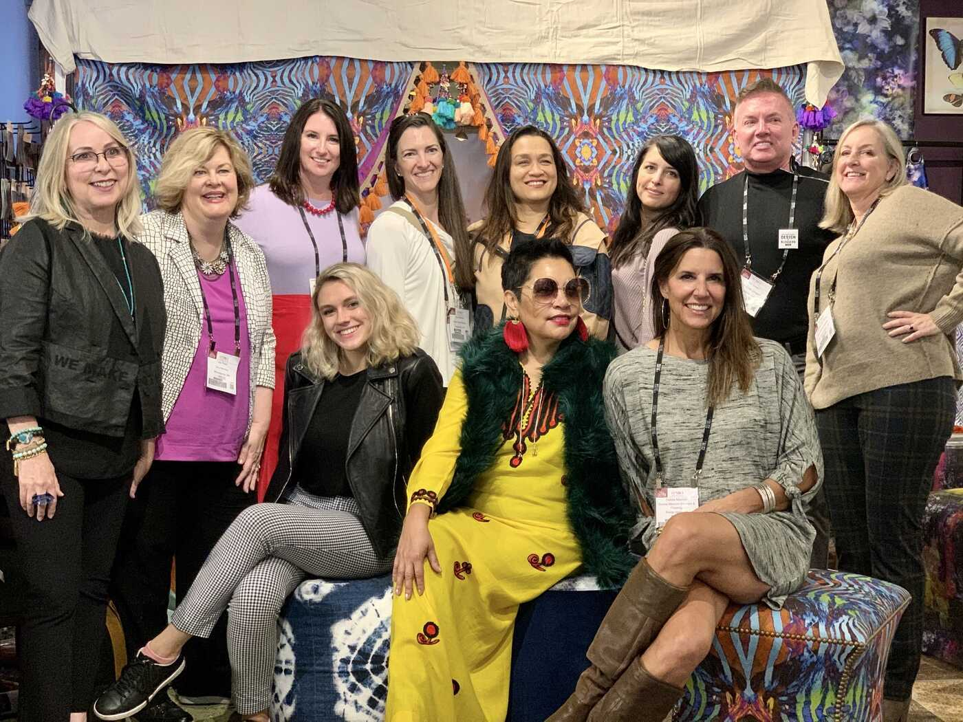 We made our High Point Market debut and welcomed interior designers, shop owners, bloggers and influencers through the folds of our one-of-a-kind tent into our boho luxe world.