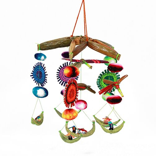Bohemian Hanging Mobile - Multicolored