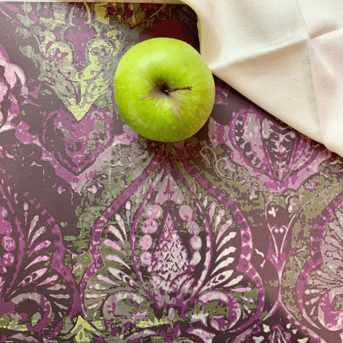Neela Purple Paper Placemats