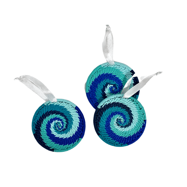 African Ocean Telephone Wire Ornaments