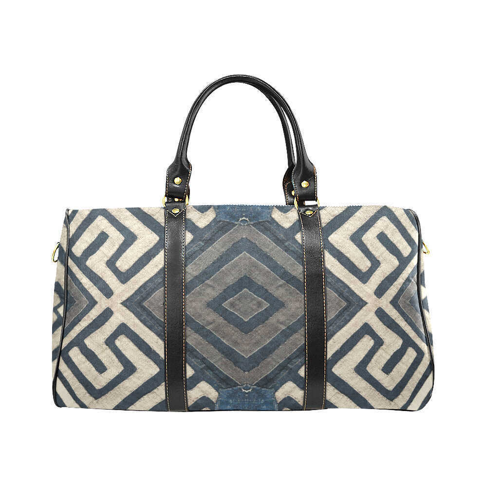 Modern Travel Bag - Moulou Blue