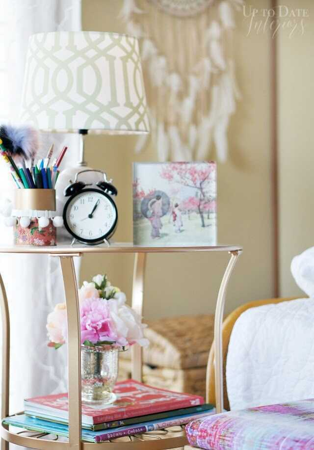 SmithHönig friend and fellow glam lover created a peaceful haven in a far away place for her little girl. See how interior stylist and military wife Kathy Bauer layered our globally inspired patterns and products into her daughter's room in their Japan rental home.
