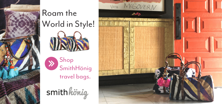 While her son was participating in an exchange program in Düsseldorf, Germany, SmithHönig co-founder Kellie Smith took the opportunity to turn a visit into a family getaway. From Amsterdam to Paris and all the way back to Georgia, Kellie sported her durable, easy-to-lug-around-an-airport SmithHönig travel bag.