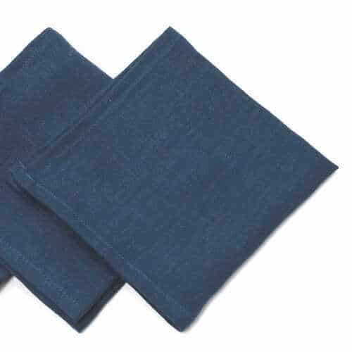 Blueberry Linen Napkins - Set/4 - 2 Sizes