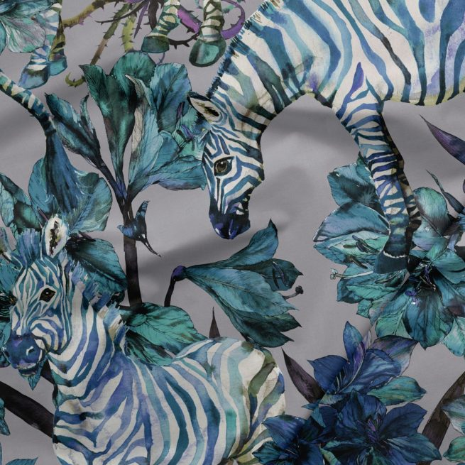 Zebra Print Fabric by the Yard - Exclusively by SmithHönig