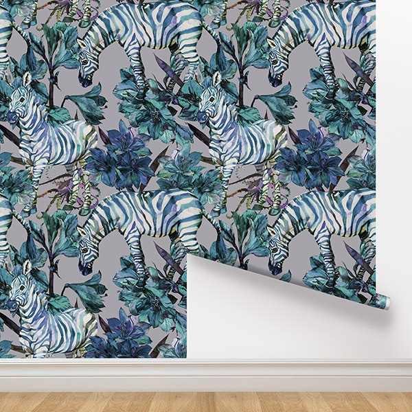 Peel and Stick Wallpaper - Moxie / Lilac