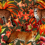 Leopard Print Removable Wallpaper - a SmithHönig Exclusive