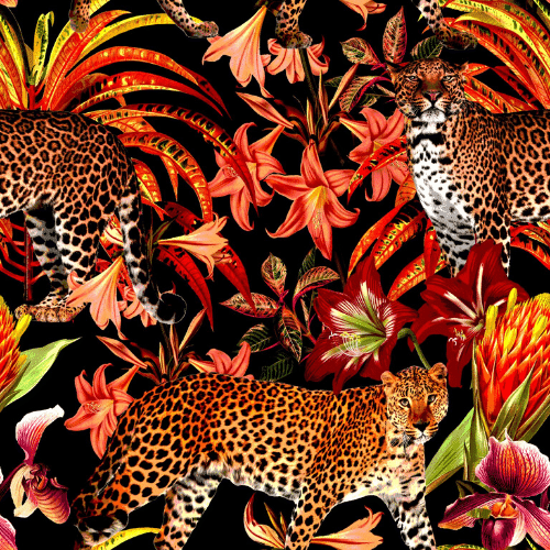 Leopard Removable Wallpaper - a SmithHönig Exclusive