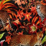 Shiny Leopard Fabric by the Yard - Exclusively by SmithHönig